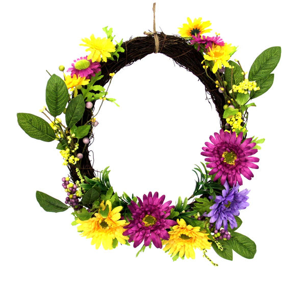 "Sunflower 16"" Wreath"