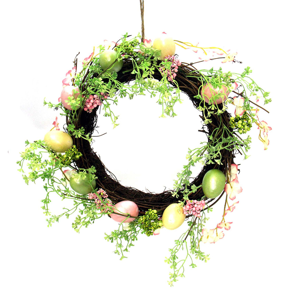"Easter Egg 12"" Wreath"