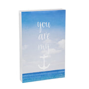 You Are My Anchor Wood Block