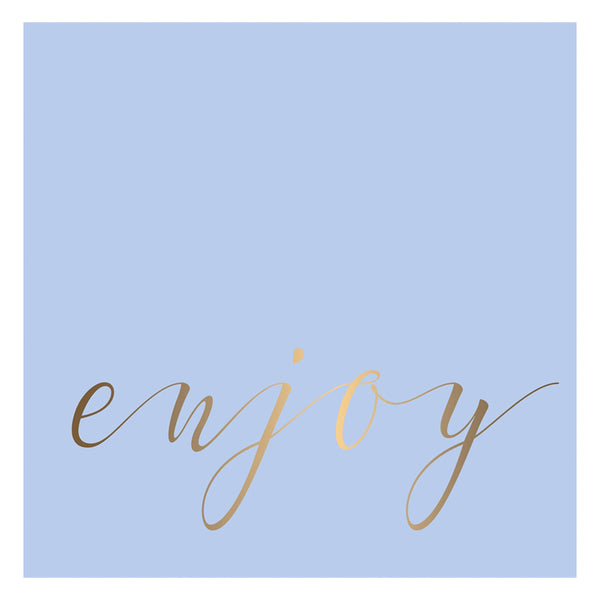 "Paper Luncheon Napkin, 20 count, ""Enjoy"""