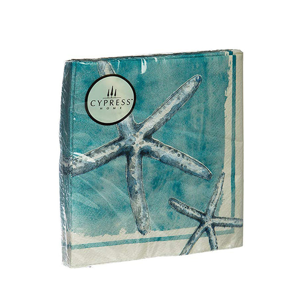 Sea Life Paper Cocktail Napkins, Starfish