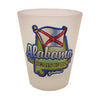 Alabama Frosted Shot Glass Souvenir