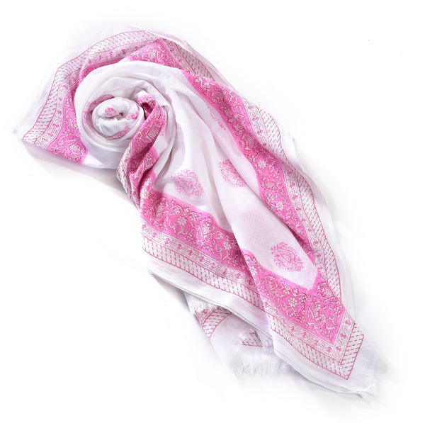 Charlie Paige Cotton Woven Scarf