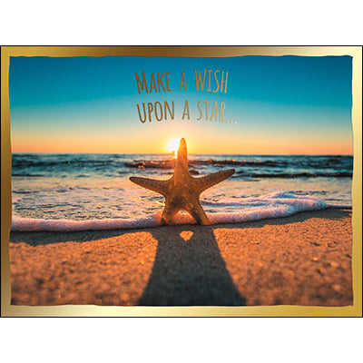 Birthday Card: Someone who deserves an ocean full of wishes-come-true!