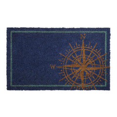 Blue Compass Doormat