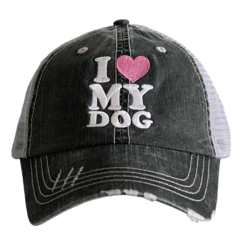 "Katydid Hat ""I Love My Dog"""