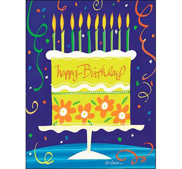 Birthday Card: Today, celebrate you...Every day, celebrate life.