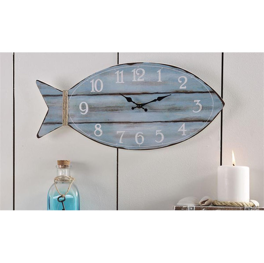 Fish Design Wall Clock