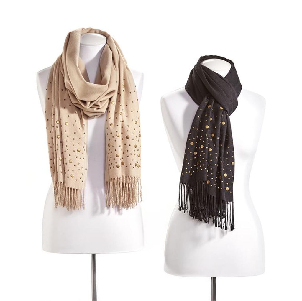 Avenue 9 Wish Long Studded Scarf