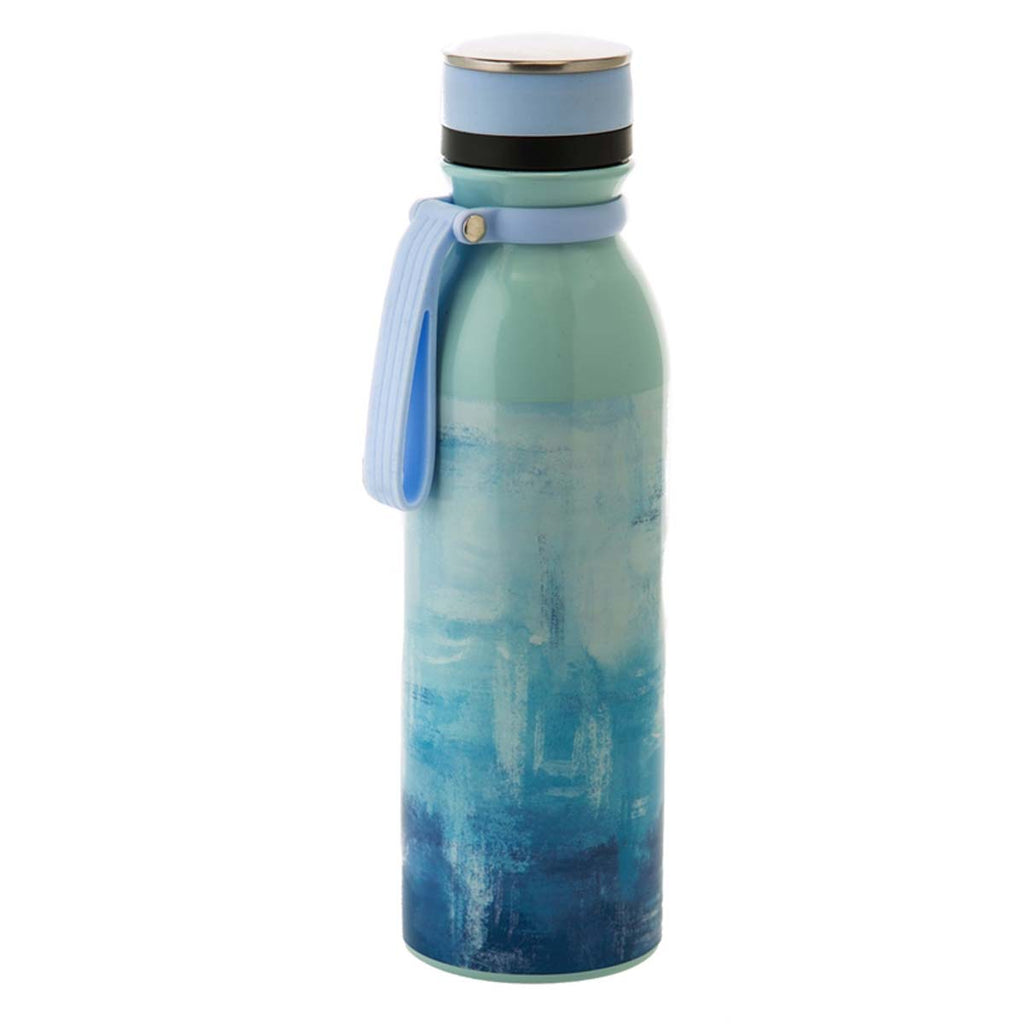 Double Wall, 20 OZ, Stainless Steel Refresh Traveler, Blue and White Spackle