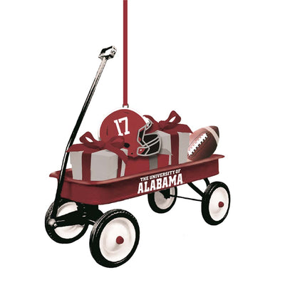 Team Wagon Ornament Alabama