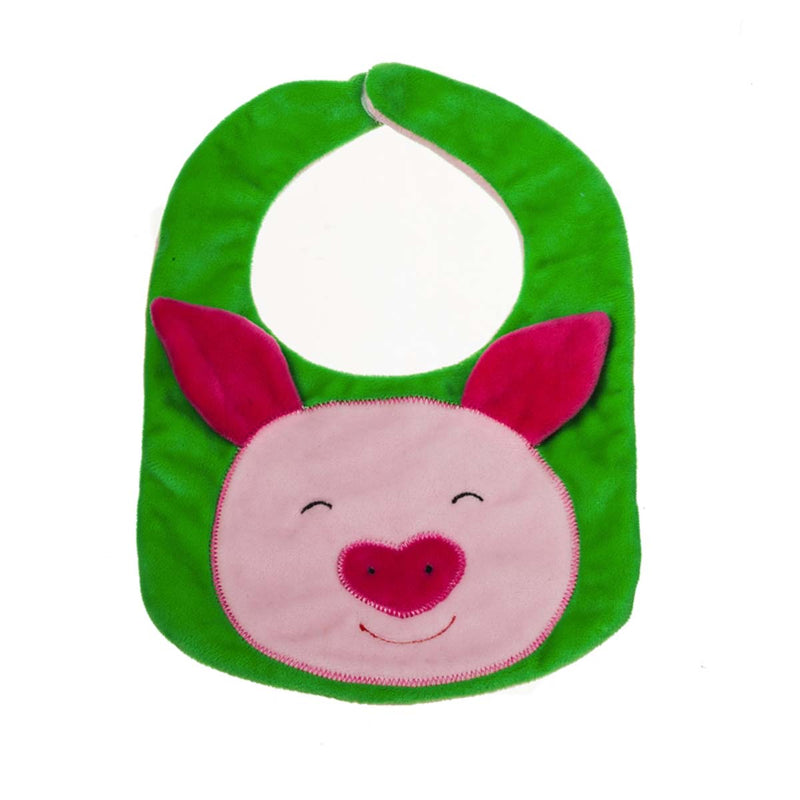 Reversible Bib,  Penny the Pig