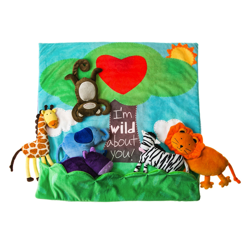 Life in the Jungle Reversible Play Blanket