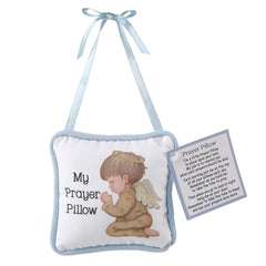 Prayer Pillow Praying Baby Boy Angel