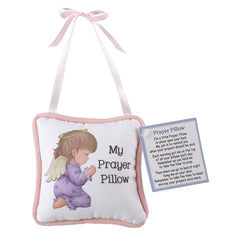 Prayer Pillow Praying Baby Girl Angel