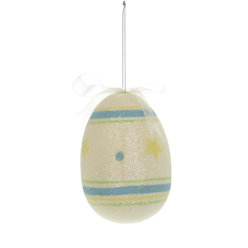Beaded Egg Ornament Large