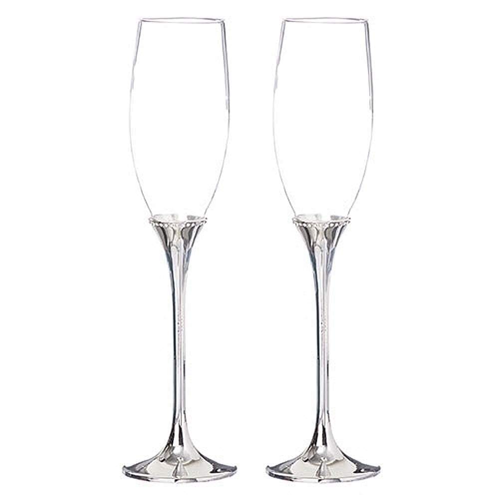 2 Champagne Glasses