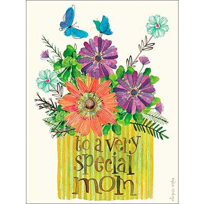 Mother's Day Card: to a very special mom