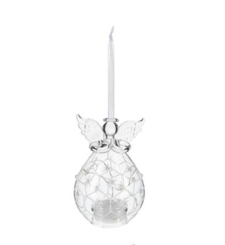 Angel LED Pearl Ornament Style 4
