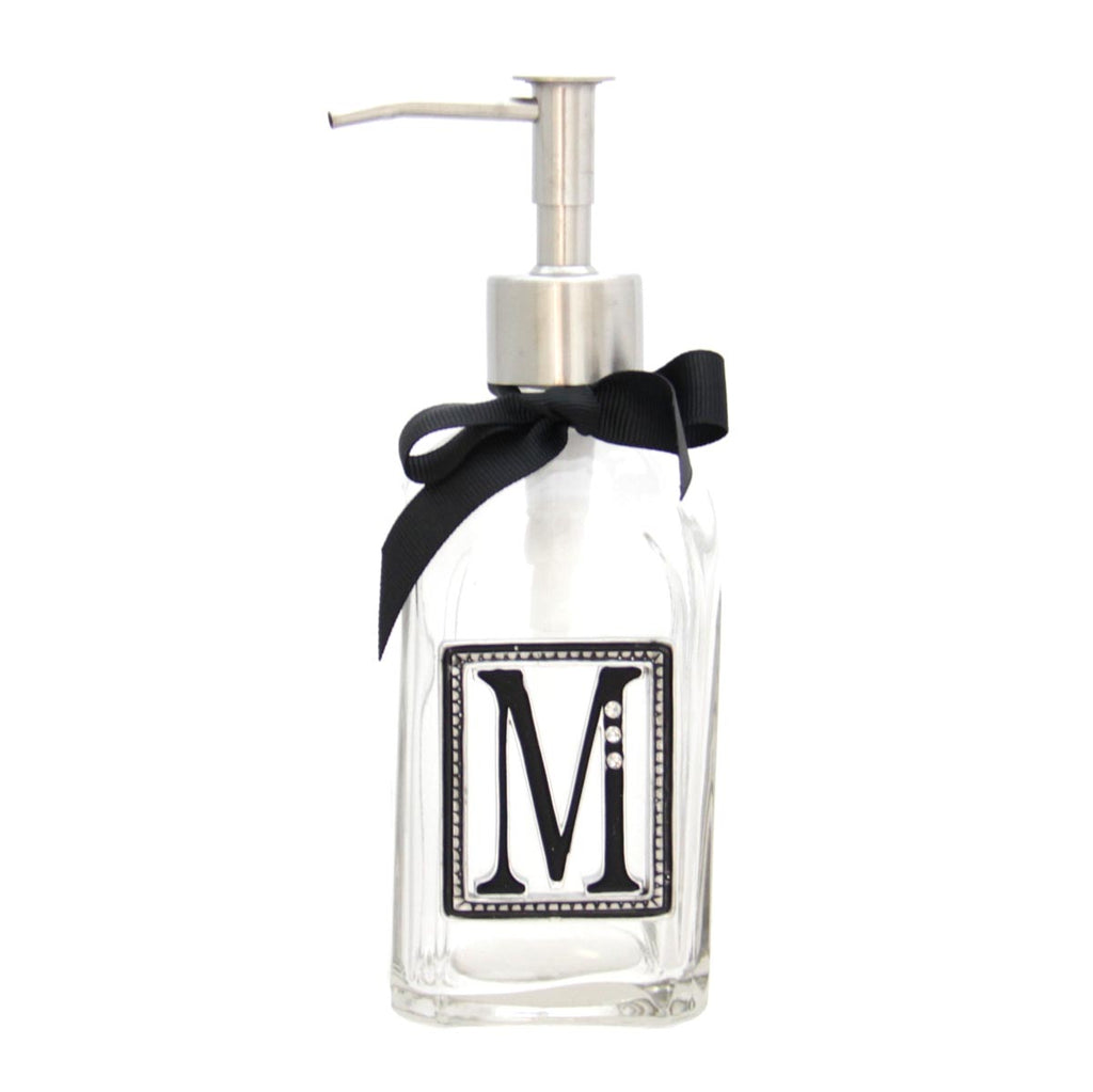 Monogram Soap & Lotion Dispenser M