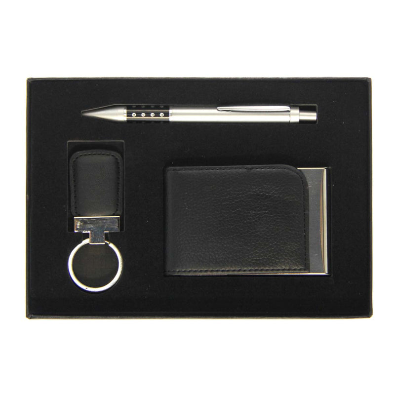 Men's Gift Set Square Key Ring