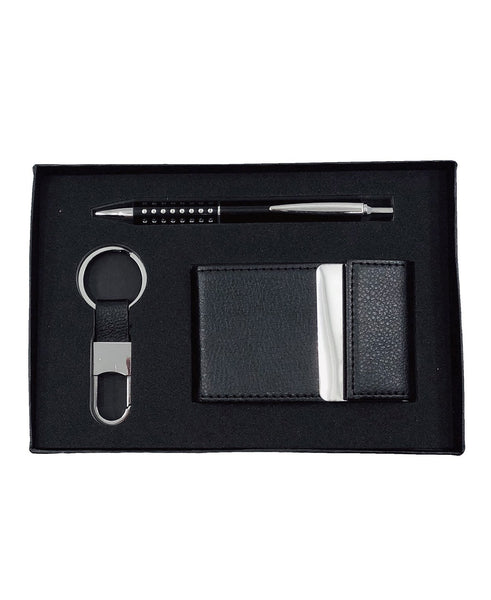 Men's Gift Set Oval Key Ring