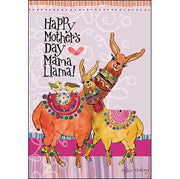 Mother's Day Card: Happy Mother's Day Mama Llama!