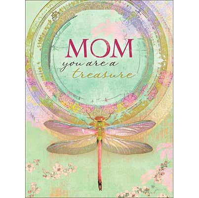 Mother's Day Card: MOM you are a treasure