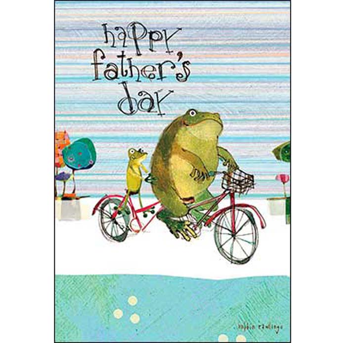 Father's Day Card: You are one toad-ally cool Dad!