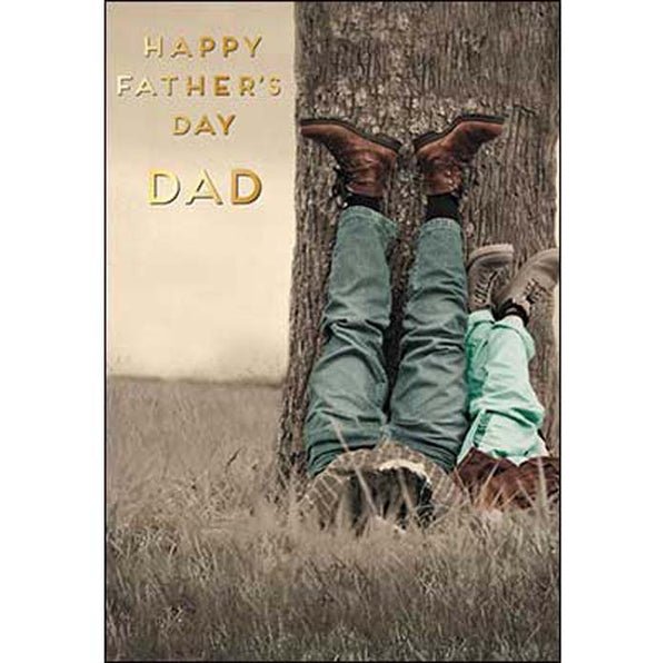 Father's Day Card: Happy Father's Day DAD