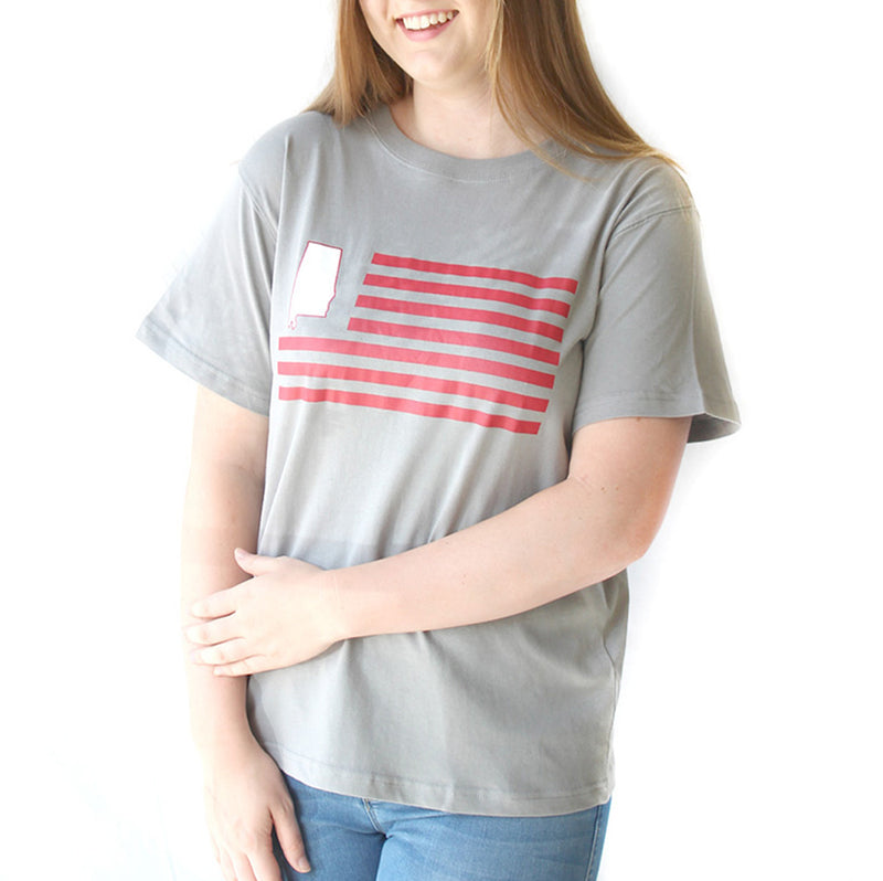 Alabama Flag Short Sleeve T-Shirt