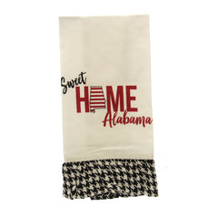 Sweet Home Alabama Ruffle Hand Towel