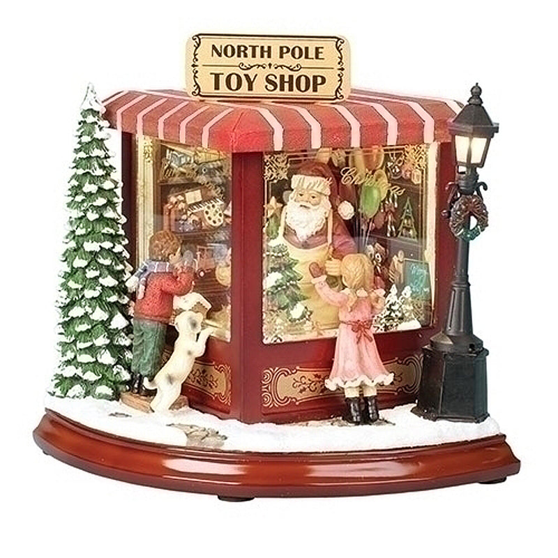 Musical LED North Pole