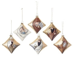 Nativity Ornaments Set 6