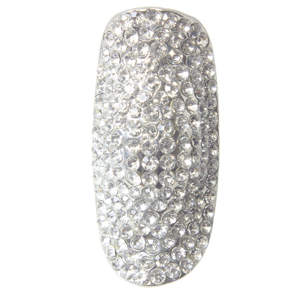 Pave Stretch Cocktail Ring