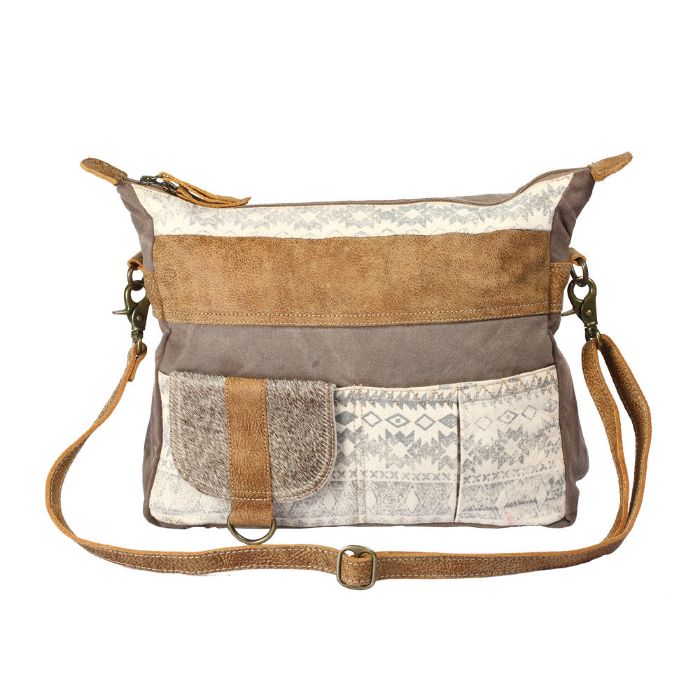 Tribe Strip Shoulder Bag
