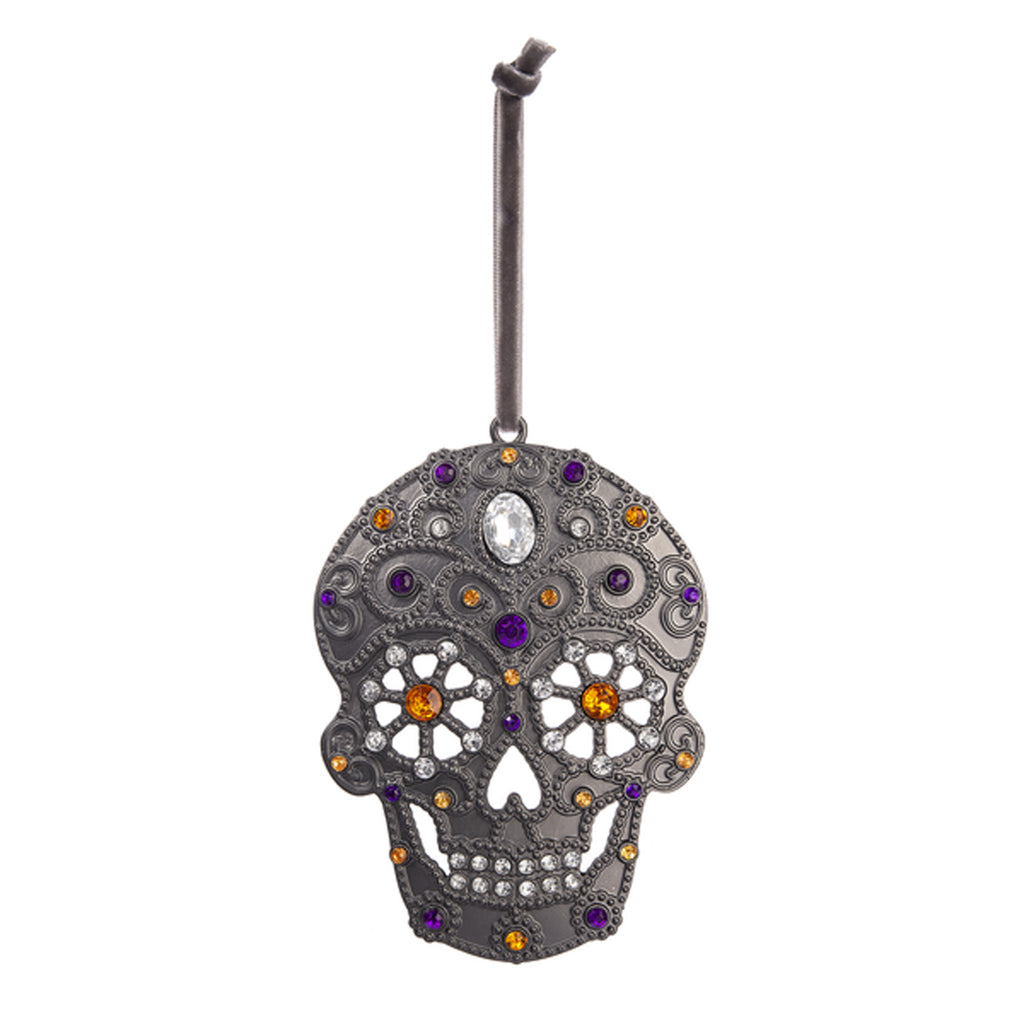 Spooky Skull Ornament
