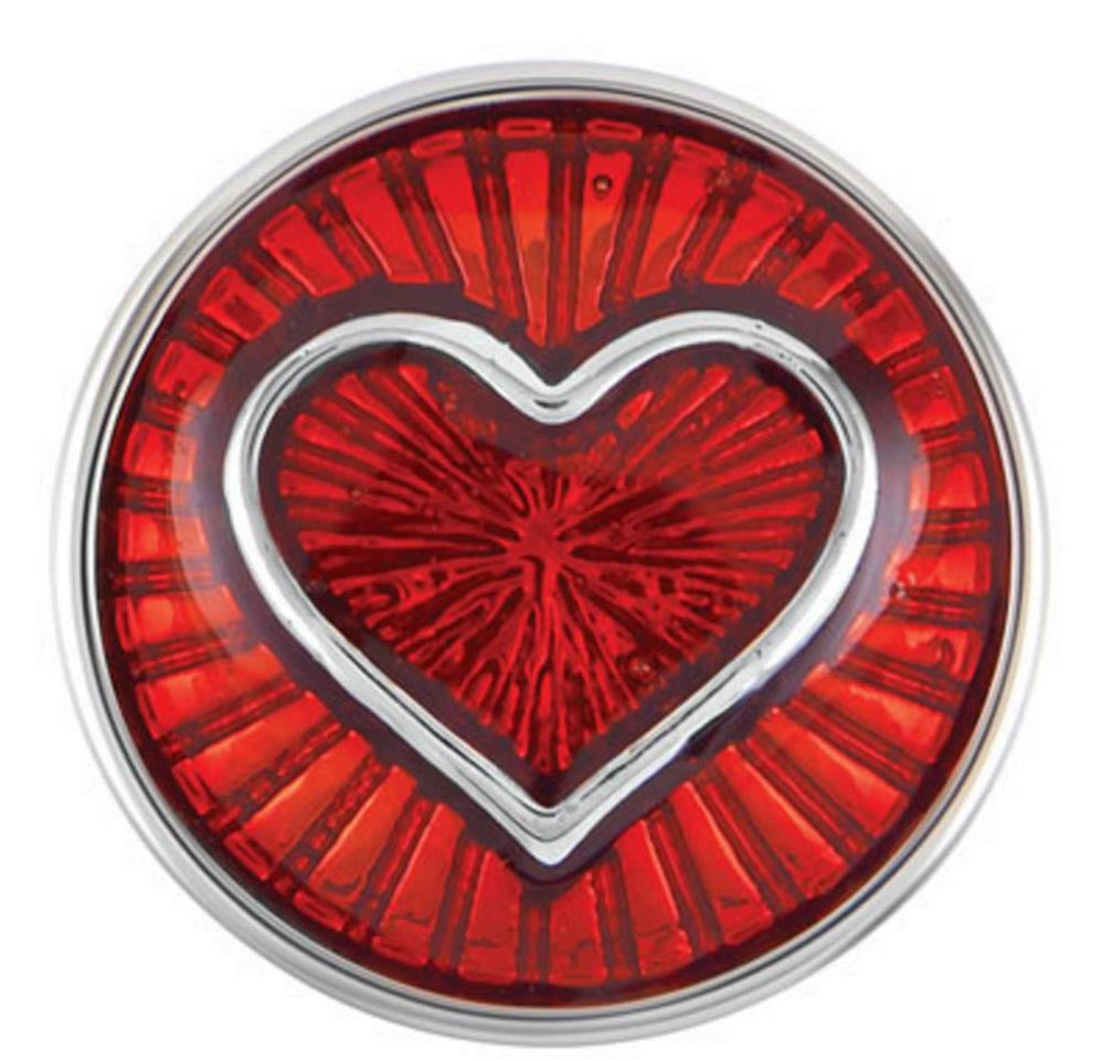 Petite Ginger Snaps Enameled Red Heart Snap
