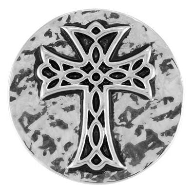 Ginger Snaps Hammered Cross Snap