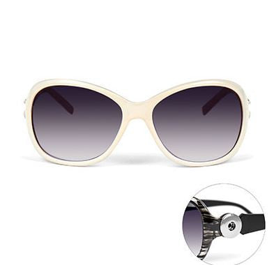 Sunglasses Pearl White Ginger Snaps