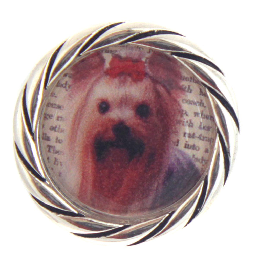 Yorkie Snap Button