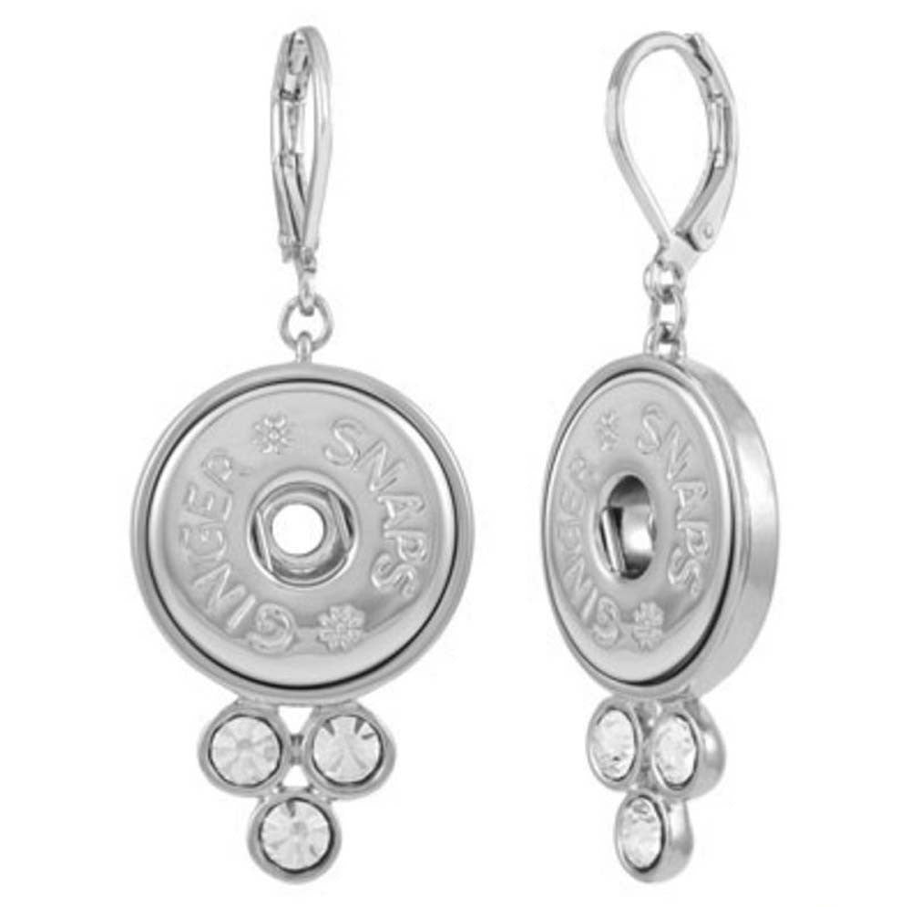 Ginger Snaps Earrings 3 Stone Jubilee Gift Shop