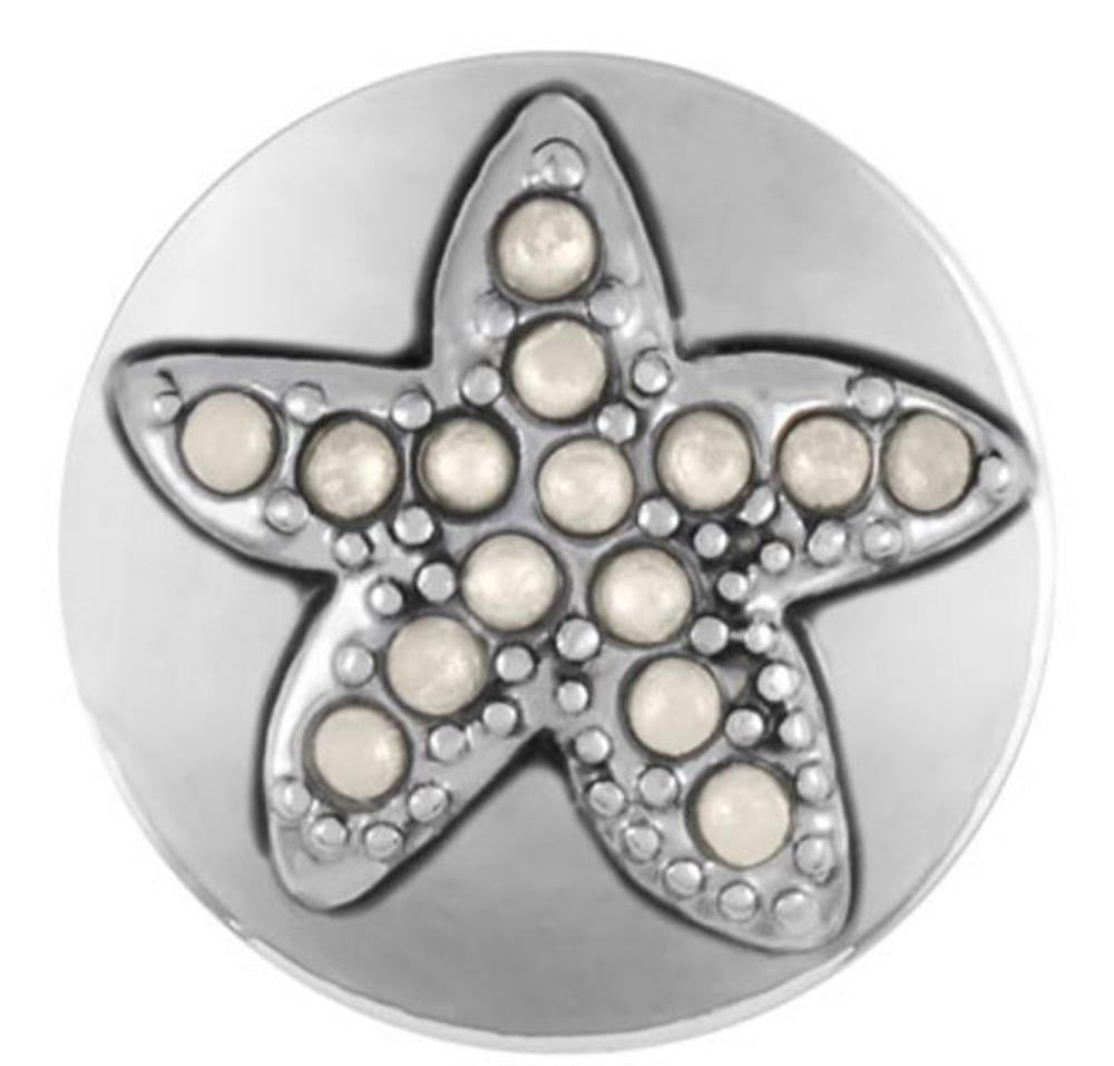 Petite Ginger Snaps Starfish Pearl Snap