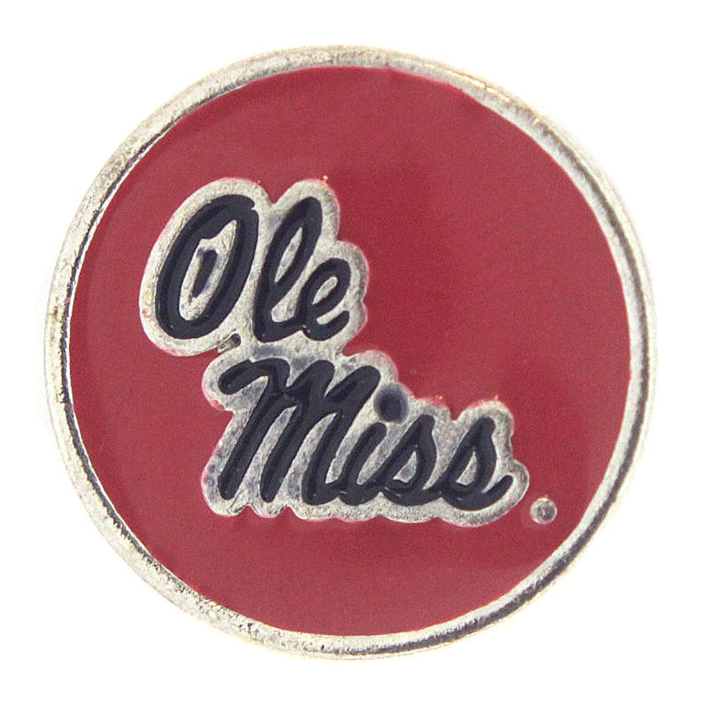 Mississippi Rebels Snap Charms