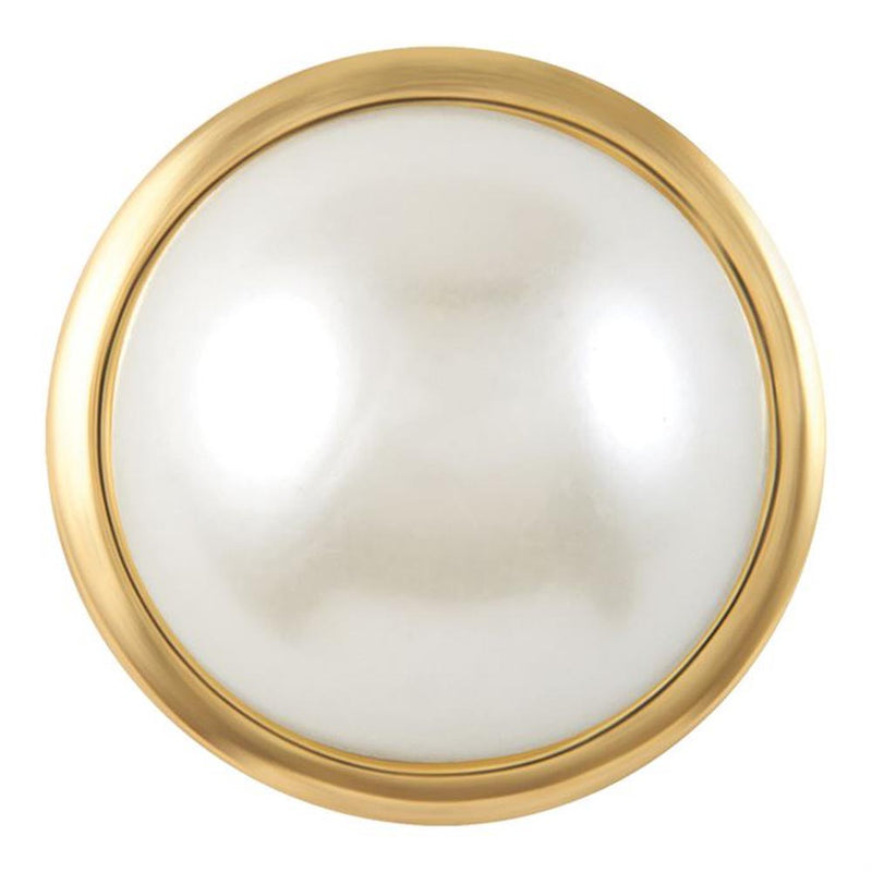 Ginger Snaps Grand - Gold White Pearl Snap