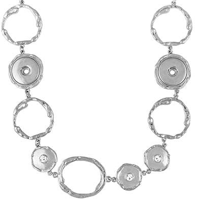 Ginge Snaps Station Necklace 3 Snap