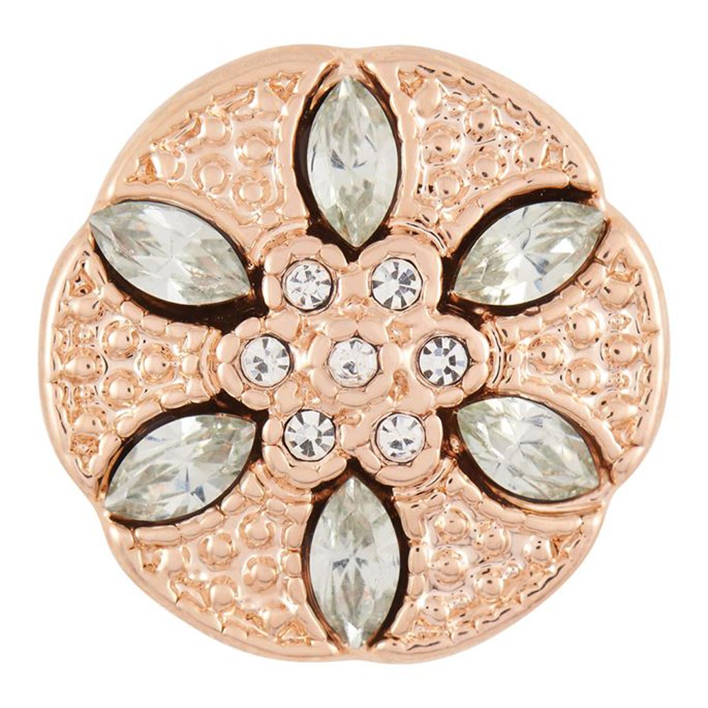 Ginger Snaps Lucia Flower- Rose Gold Snap