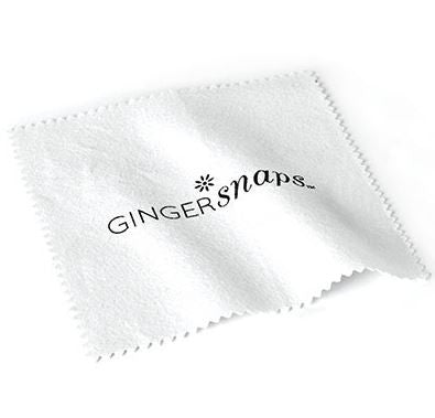 Ginger Snaps White Polish Cloth