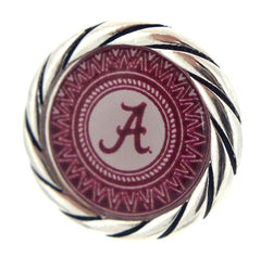 Alabama Crimson Tide Snap Button