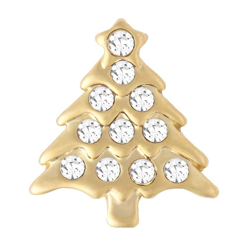 Petite Ginger Snaps Holiday Tree Gold